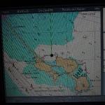 Панама: Неделя с ГЛОНАСС 28.07.2012 Raymarine c70