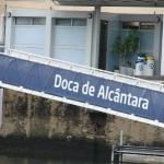 Португалия, город Лиссабон, марина Doca de Alcantara