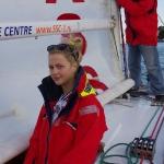 Яхта Дельта, работа с парусами