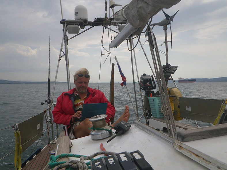 Курс на Севастополь - ГЛОНАСС работает лучше GPS