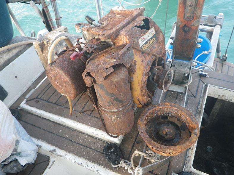 Остров Ланкави, яхтенные будни