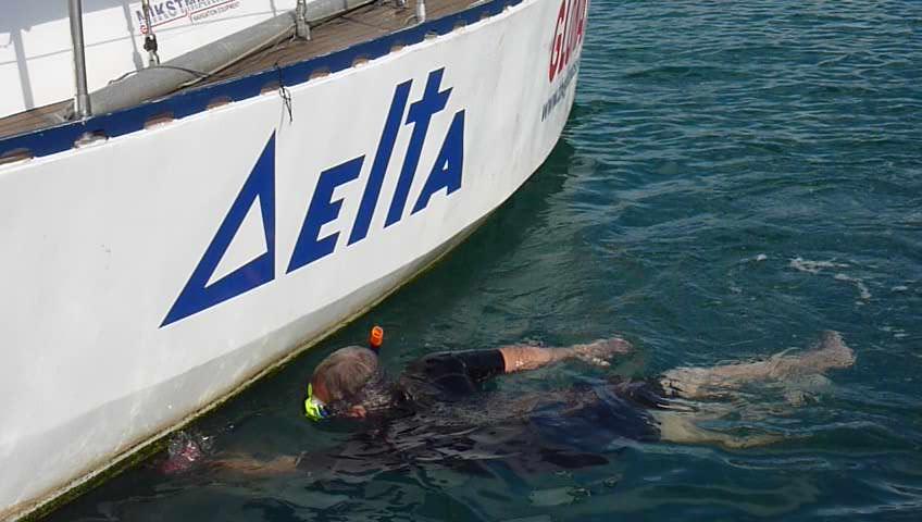 ГЛОНАСС, Канарские острова, яхта Дельта