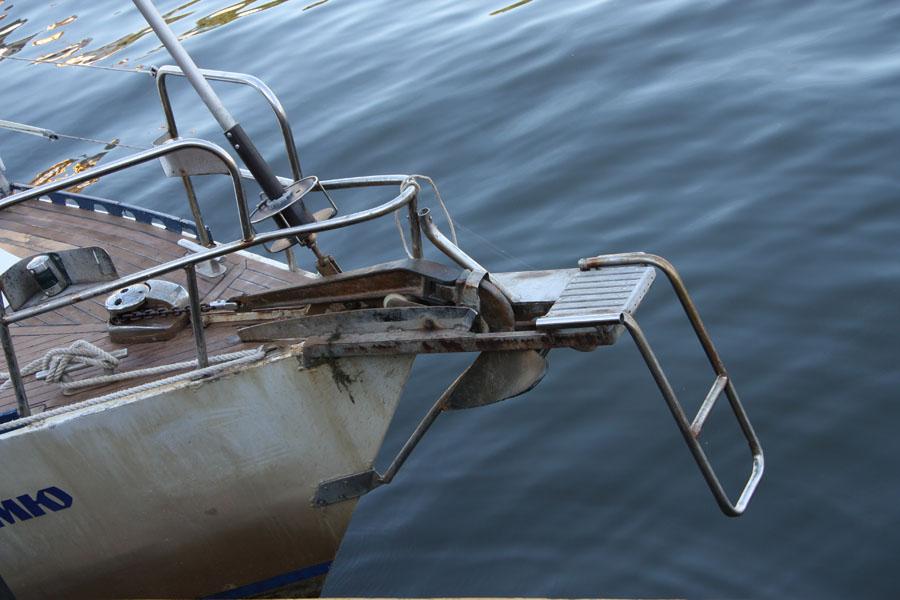 Фото финиш кругосветки на яхте Дельта