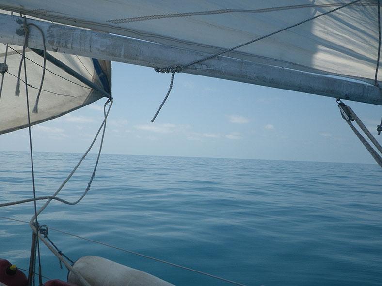 Фото с перехода Новая Каледония - Индонезия