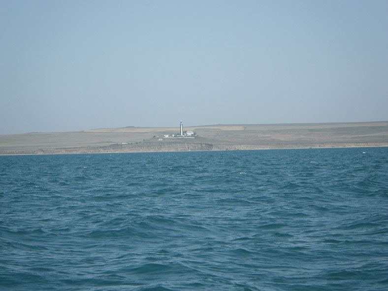 От Севастополя заходим в Керченский пролив по ГЛОНАСС