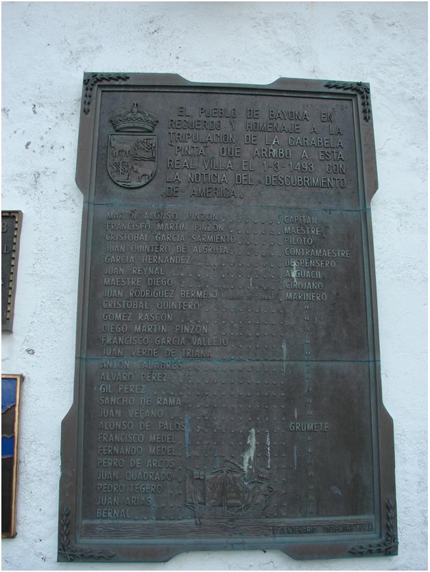 Cписок членов экипажа экспедиции Колумба