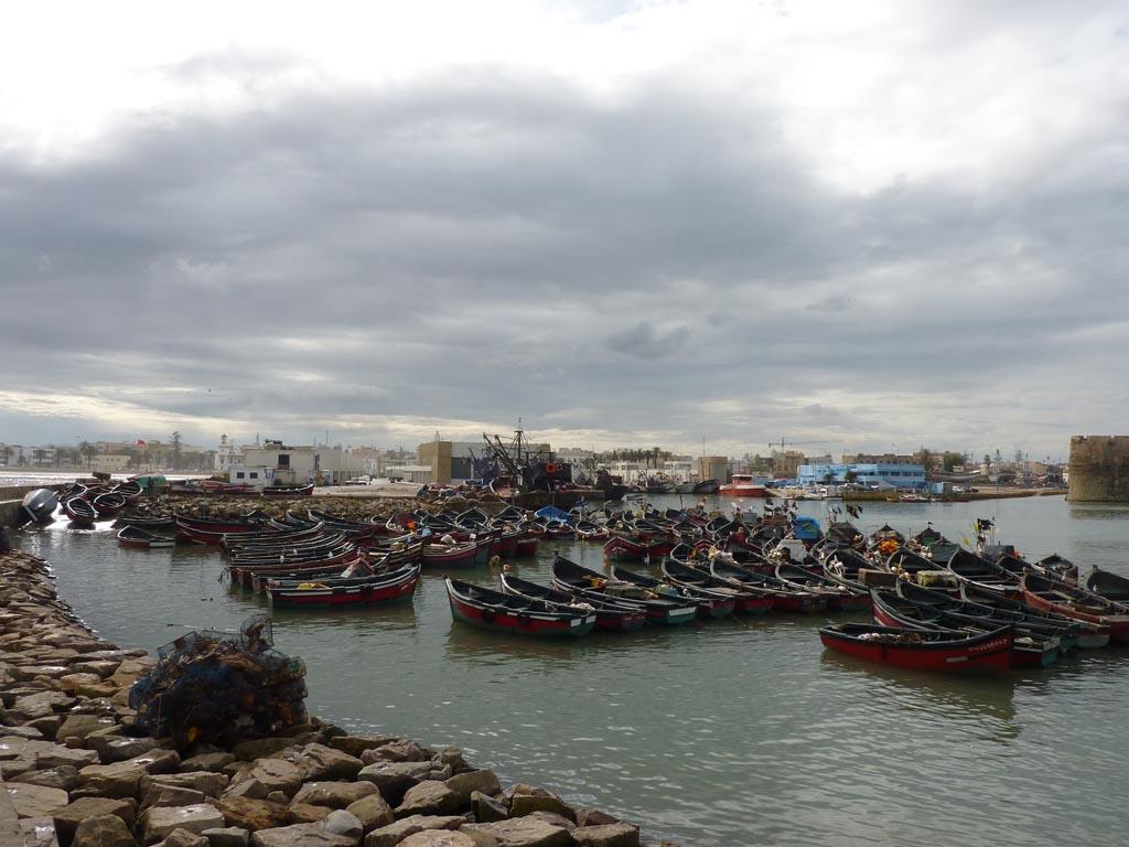Марокко, Эль-джадида, яхта Дельта