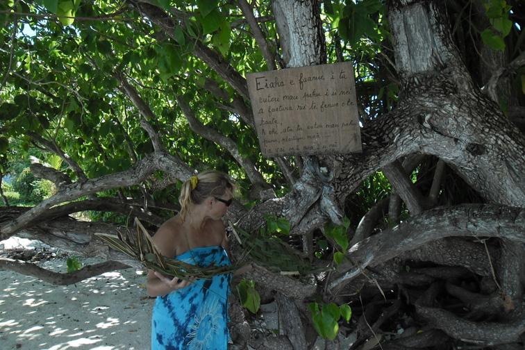 Маупити: ГЛОНАСС кругосветка