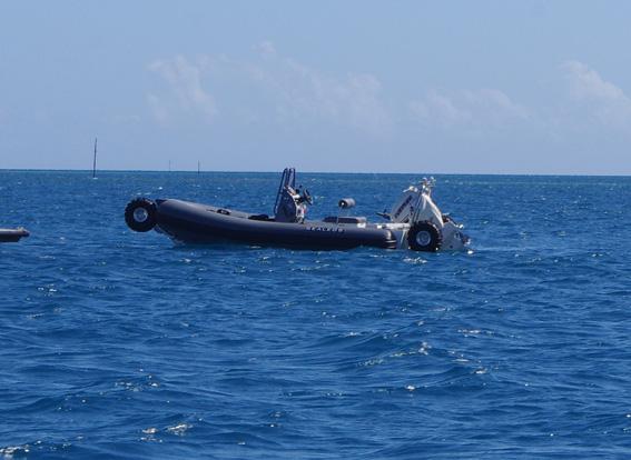 ГЛОНАСС-кругосветка на Фиджи: Бухта Мушкет