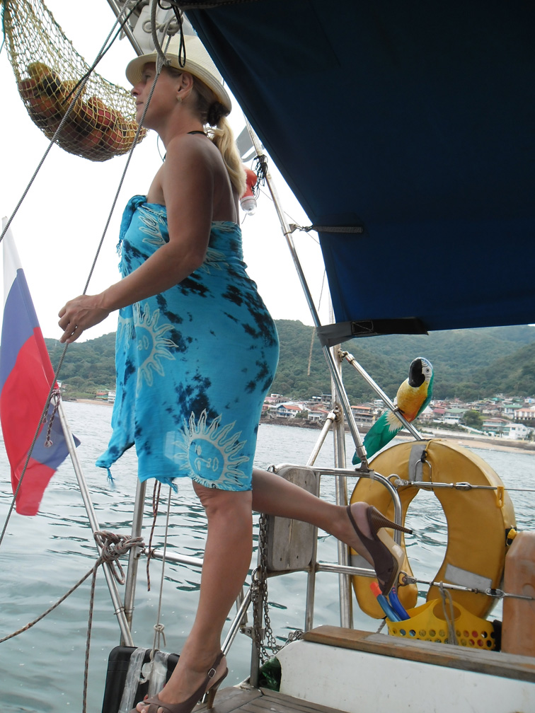 Goodbye Panama, Hey for the Pacific Ocean: GLONASS AROUND THE WORLD