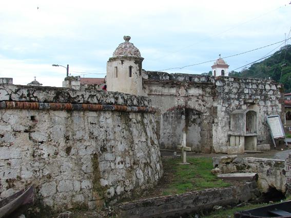 ГЛОНАСС кругосветка: Панамский канал, Портобело (Portobelo), Nombre de Dios