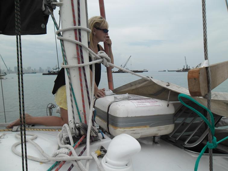 Панама: подготовка ГЛОНАСС экспедиции к переходу через Тихий океан