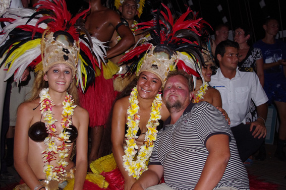 Sedov and Delta in Tahiti