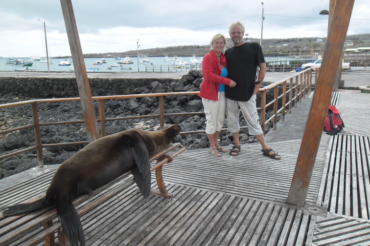 ТWe Leave the Galapagos Islands for the Pacific