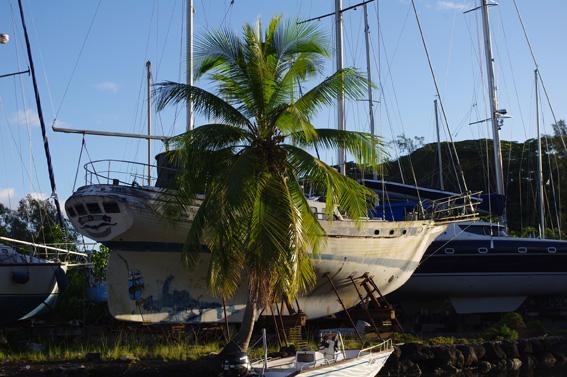 На Таити я встретил яхту своей мечты