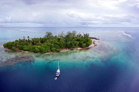 ГЛОНАСС на Таити работает отлично: яхта Дельта