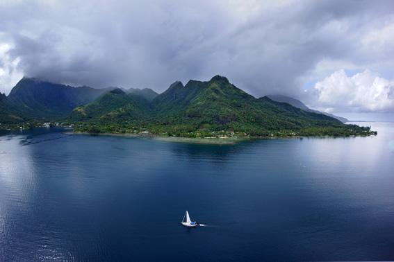 ГЛОНАСС на Таити работает отлично: Дельта вокруг света