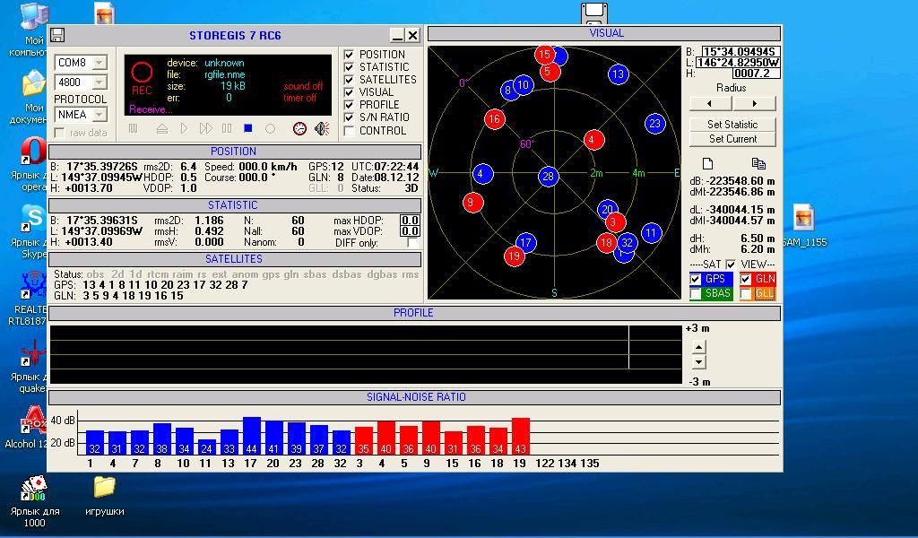 ГЛОНАСС на Таити работает отлично: спутники ГЛОНАСС