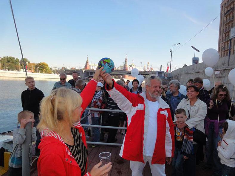 Заключительный пост кругосветного плавания яхты DELTA